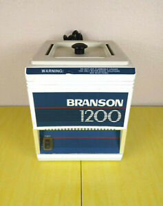 Branson Bransonic Ultrasonic Cleaner B1200r 4 Dental Lab Jewelry Tattoo