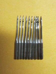 10 Willcox Gibbs Chain Stitch Sewing Machine Needles Qty 10 Assorted Sizes