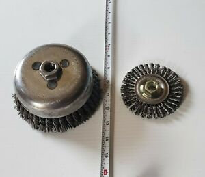 Weiler 5 Cup Wire Brush Weiler Stringer Bead Wire Wheel 13131 New