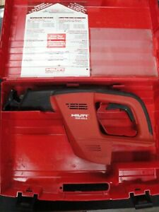 Hilti Wsr650 a 24v Cordless Sawzall Reciprocating Saw Tool And Case Only