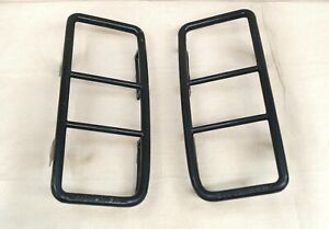 2003 2009 Hummer H2 Oem Rear Black Taillight Guard Set Very Good Condition