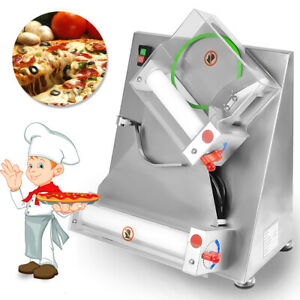12 Inch Electrical Pastry Press Machine Roller Sheeter Puff Pastry Pizza Crust