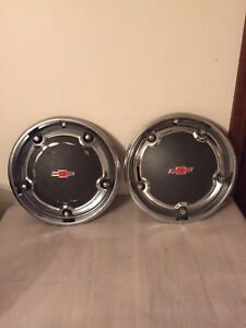 1967 1968 Oem Chevy C10 Truck 15 Full Wheel Cover Hubcap 2 Available Sold One