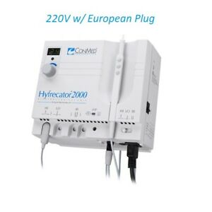 Conmed Hyfrecator 2000 Electrosurgical Unit 7 900 220 Dessicator New 220v