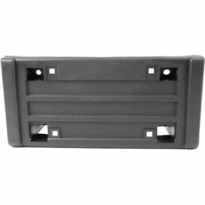 Dat Auto Parts Front License Plate Bracket Tag Holder W Impact Strip Bumper