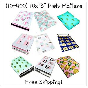 10 400 Pack 10x13 Variety Pack Poly Mailers free Shipping