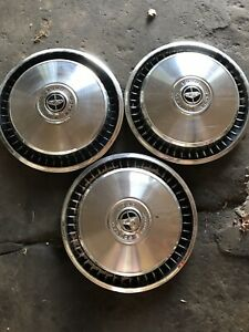 Ford Truck F100 F150 1976 Hubcap Wheel Covers Vintage Antique Three Set