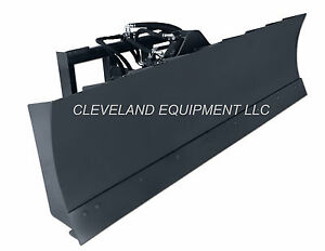 New 72 6 way Dozer Blade Attachment For Fits Bobcat Skid steer Track Loader