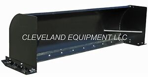 New 96 Blue Diamond Snow Pusher Attachment Skid Steer Loader Box Plow