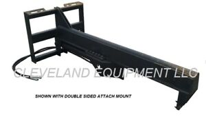 New 35 Ton Log Wood Splitter Attachment Skid Steer Loader Caterpillar Cat