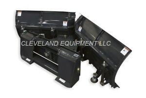 New 84 Virnig V snow Plow Attachment Bobcat Skid Steer Loader V plow V blade 7