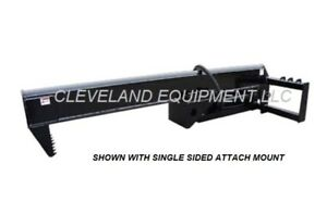 New 35 Ton Skid Steer Loader Inverted Log Splitter Attachment