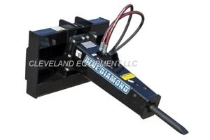 Blue Diamond Hb95 Hydraulic Concrete Breaker Hammer Attachment Mini Skid Steer