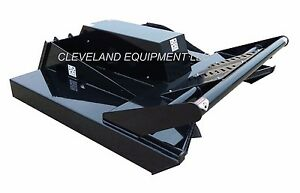 New 60 Hd Open Front Brush Cutter Attachment Skid Steer Track Loader 15 28gpm