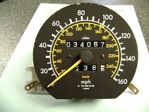 Mercedes Benz 300e Speedometer Used 34 067 Miles Excellent Cond Used 1245420069