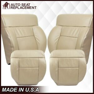 2005 06 07 2008 Ford F 150 Lariat Seat Cover Replacement In Medium Pebble Tan