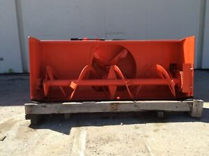 Kubota L2194a 62 Front Mount Two Stage Snow Blower sr
