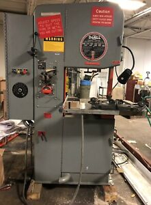 Doall Model 2013 20 Vertical Band Saw
