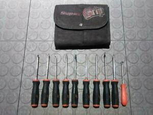 Snap On Screwdriver And Pick Set Pak562420 10 Piece