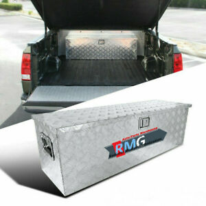 40 Truck Pickup Flat Bed Aluminum Underbed Tool Box Tongue Trailer Storage