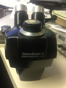 Bausch Lomb Stereo Zoom 4 Microscope Head Only 0 7x 3 0x Real Nice