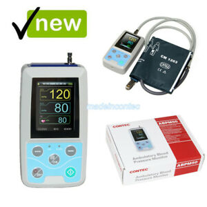 Contec Abpm50 Ambulatory Blood Pressure Monitor pc Software One Adult Cuff Usa