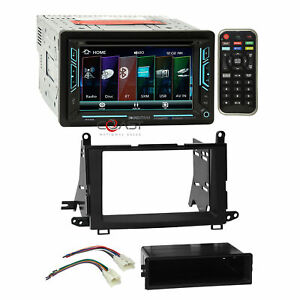 Soundstream Dvd Bt Sirius Ready Stereo Dash Kit Harness For 09 15 Toyota Venza