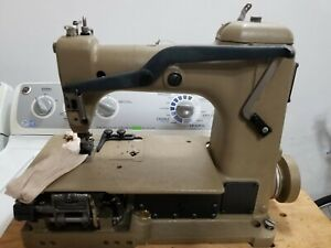 Union Special 51000gz62 Double Needle Industrial Sewing Machine 1 4