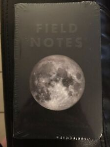Field Notes Brand Lunacy Edition Sealed 3 pack