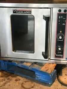 Garland Mco e 5 c Single Deck Half Size Electric Convection Oven 208v 1 Phase