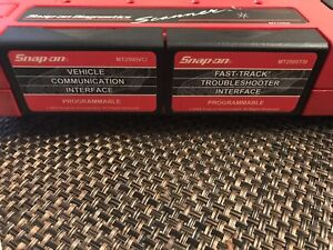 V 5 1 Snap On Mt2500tsi Mt2500vci Programmable Interface Mt2500 Cartridges Set