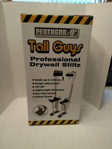 Pentagon Tool Professional 18 30 Red Drywall Or Painting Work Stilts New