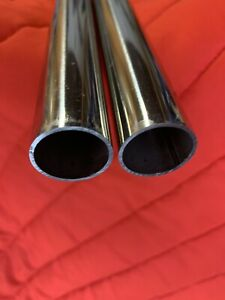 1 Piece Of Polished 304 Stainless Steel Round Tube 600 Grit 1 X 065 X 45