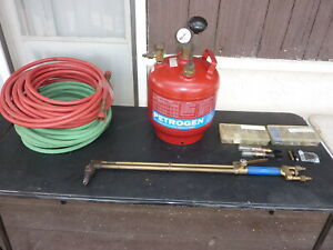 Petrogen Welding cutting System with Tank torch hoses kits and More Very Nice