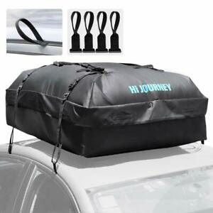 Rabbitgoo Waterproof Car Roof Top Cargo Bag With Heavy Duty Straps For Travel