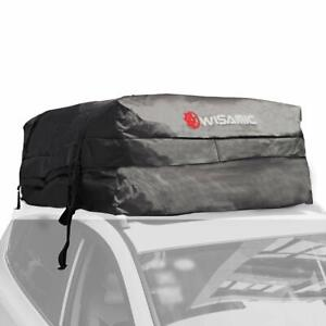 Wisamic Car Top Waterproof 30 Cubic Feet Roof Cargo Bag Soft Luggage Carriers