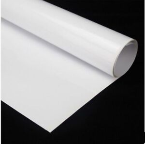White Writing Film Dry Erase Board Home Office Use 60 x20 Whiteboard Film
