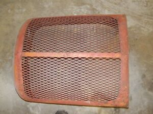Allis Chalmers Ac Wd45 Wd Tractor Original Front Nose Cone Grill Wth Wings