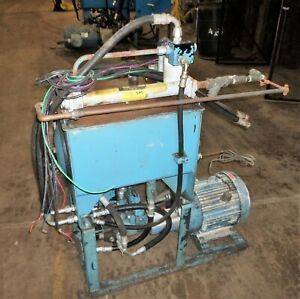Hydraulic Pump Unit Lincoln A c Motor And Reservoir Local Pickup Only