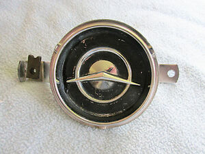 Original Clock Delete Plate For 1955 Pontiac Chieftan Or Catalina