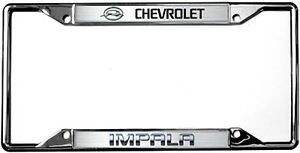New Chevrolet Impala License Plate Frame