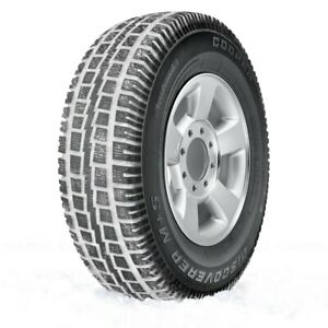 Cooper Set Of 4 Tires 255 70r16 S Discoverer M s Winter Snow Truck Suv