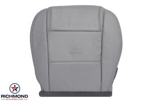 2005 2009 Ford Mustang Convertible V6 driver Side Bottom Leather Seat Cover Gray