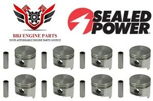 Chrysler Dodge Mopar 383 V8 Sealed Power Pistons 8 1959 1971