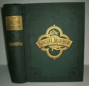 Victorian Book 1888 Etiquette Guidemannershome Society Familybeauty Recipes