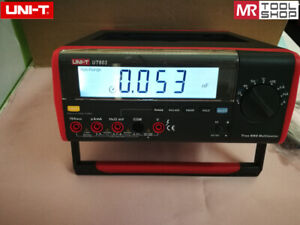 Uni t Ut803 Bench Top Digital Multimeter T rms Dmm Voltmeter Rs232 Usb Pc Softw