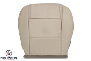 2005 2009 Ford Mustang Coupe V6 Driver Side Bottom Leather Seat Cover Tan
