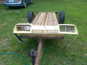 75 76 77 78 79 Chevy Monza Header Panel Front Bumper Cover Assembly