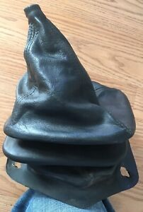 82 86 Mustang Oem Manual Shift Boot Black Leather Shifter Cover Gt Lx 1982 1986