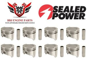 Ford Mercury 400 Modified V8 Dish Top Sealed Power Pistons 8 1971 1982